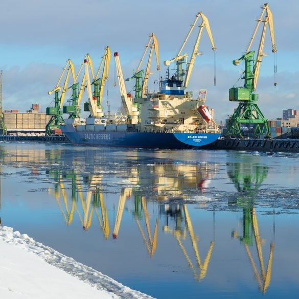 Inland Waterways & River-Sea Shipping, Western Russian